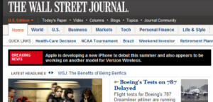 AT&T iphone-verizon-wsj