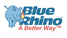 Blue Rhino logo - Stealing Share