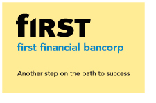 First Financial Bancorp logo - Stealing Share