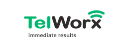 TelWorx logo - Stealing Share