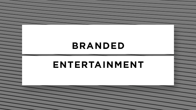 Entertainment Branding. A New Concept.
