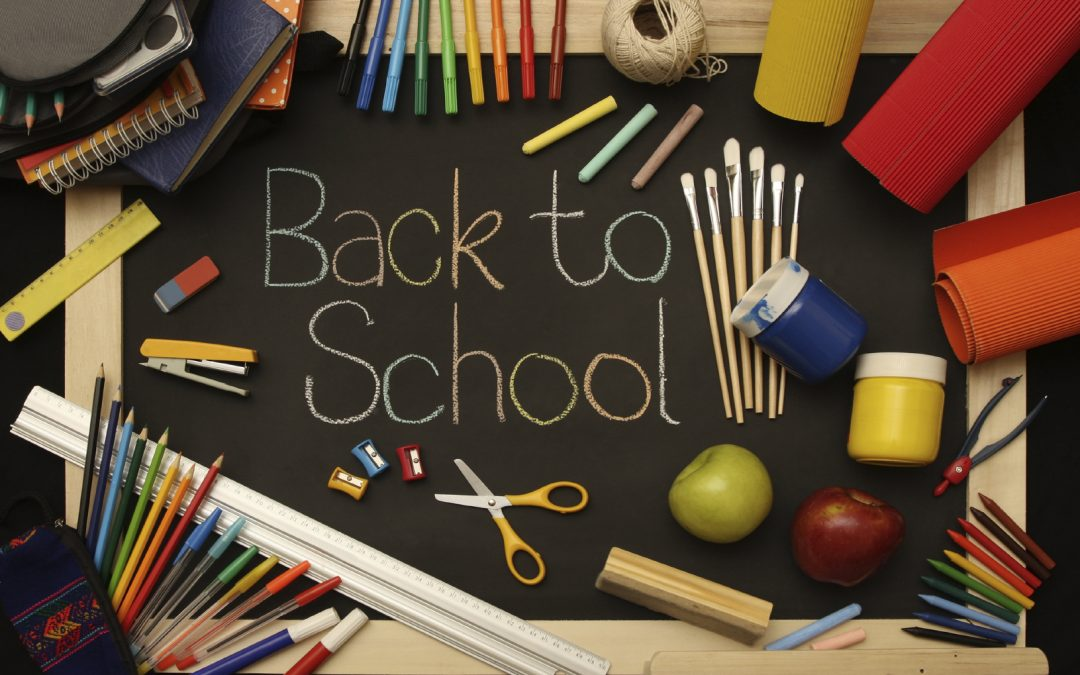 Seasonal retail. Back to School Time in Retail