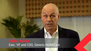 Mike Reitz, Genesis Healthcare