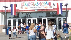 Politically Correct. Dixie Classic Fair Entrance