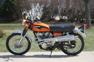 Honda CL 450 and the Pep Boys