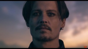 Johnny Depp commercial
