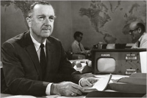 Politically ignorant was not Walter Cronkite
