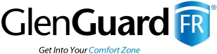 The old Rebranding GlenGuard logo promoted product benefits