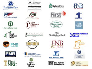 Corporate Identity and First National Banks