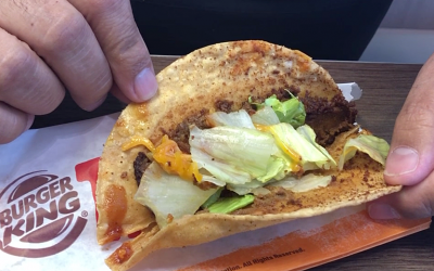 The Burger King taco is here, and it's what you think