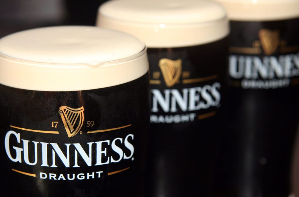 The Guinness brand stands out with its authenticity