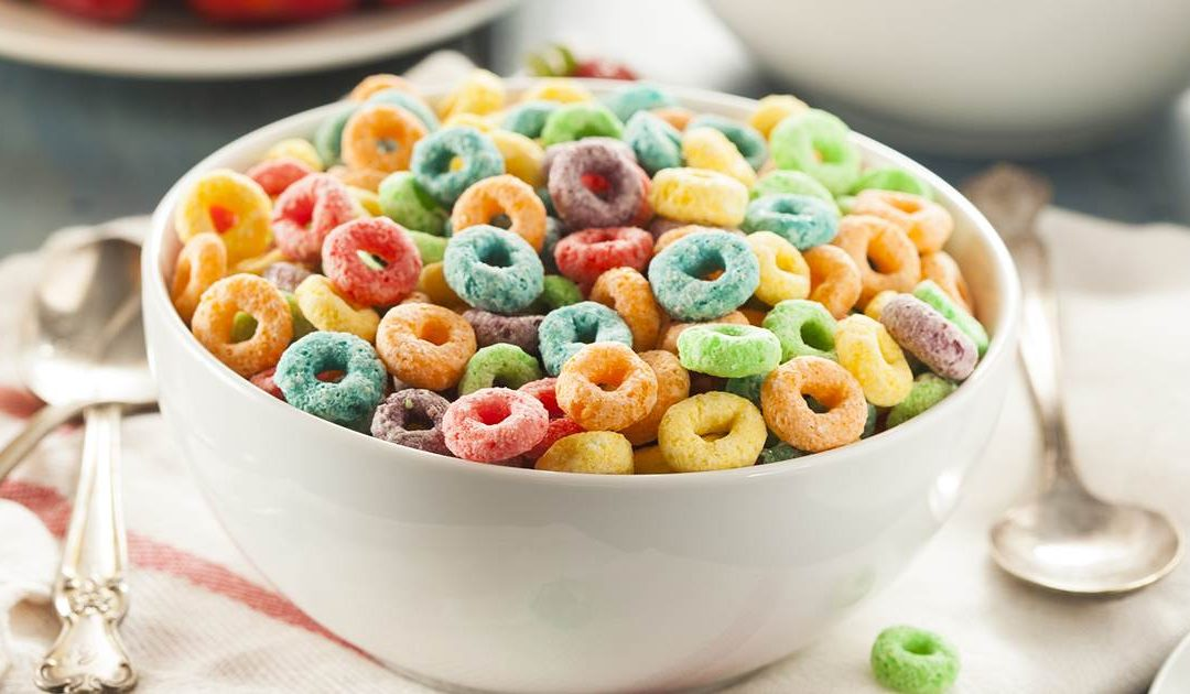 Cereal marketing takes a step back